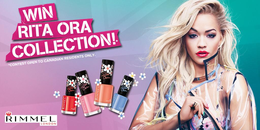 RT @rimmellondoncan: Ready to play with colour? Enter for a chance to WIN @ritaora collection. http://t.co/cBVhoDQV5A #RitaOraXRimmel http:…