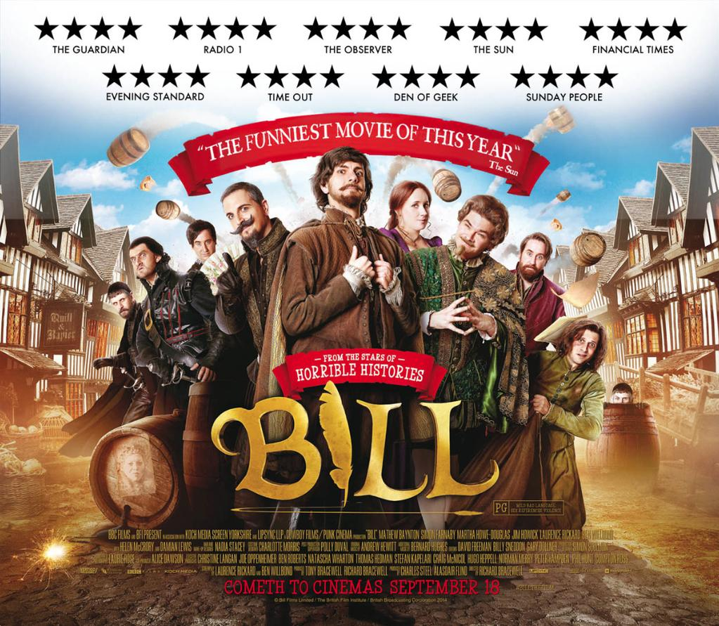 We've no billboards in real life but you could all retweet this instead? Help spread the word about #BillTheFilm! http://t.co/H1evWcBdyJ