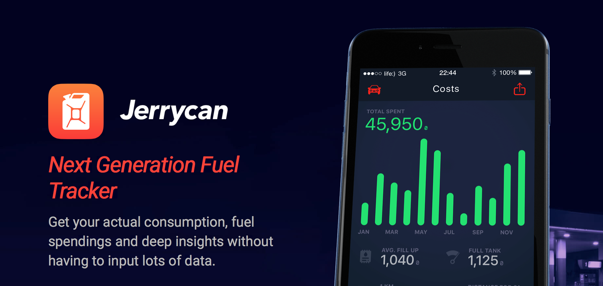 Track Your Fuel Expenses, MPG and Improve Your Driving Skills with @Jerrycanapp. Beta sign up http://t.co/j2XmA2fGeC http://t.co/FzGSCsbWEr