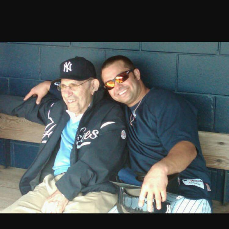 We lost a legend, an icon, but most importantly I lost my grandfather. My heart is with the Berra family. #YogiBerra http://t.co/CmNAyFp8kh
