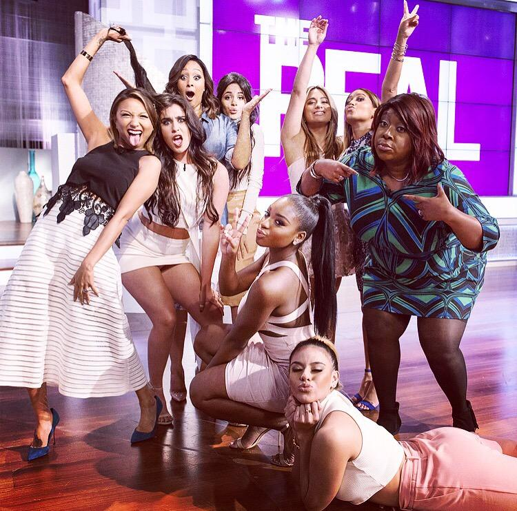 These @FifthHarmony girls R so sweet & grateful. The fangirling was on stupid fleek btwn the 10 of us, right?? http://t.co/E5Az7NKdQj