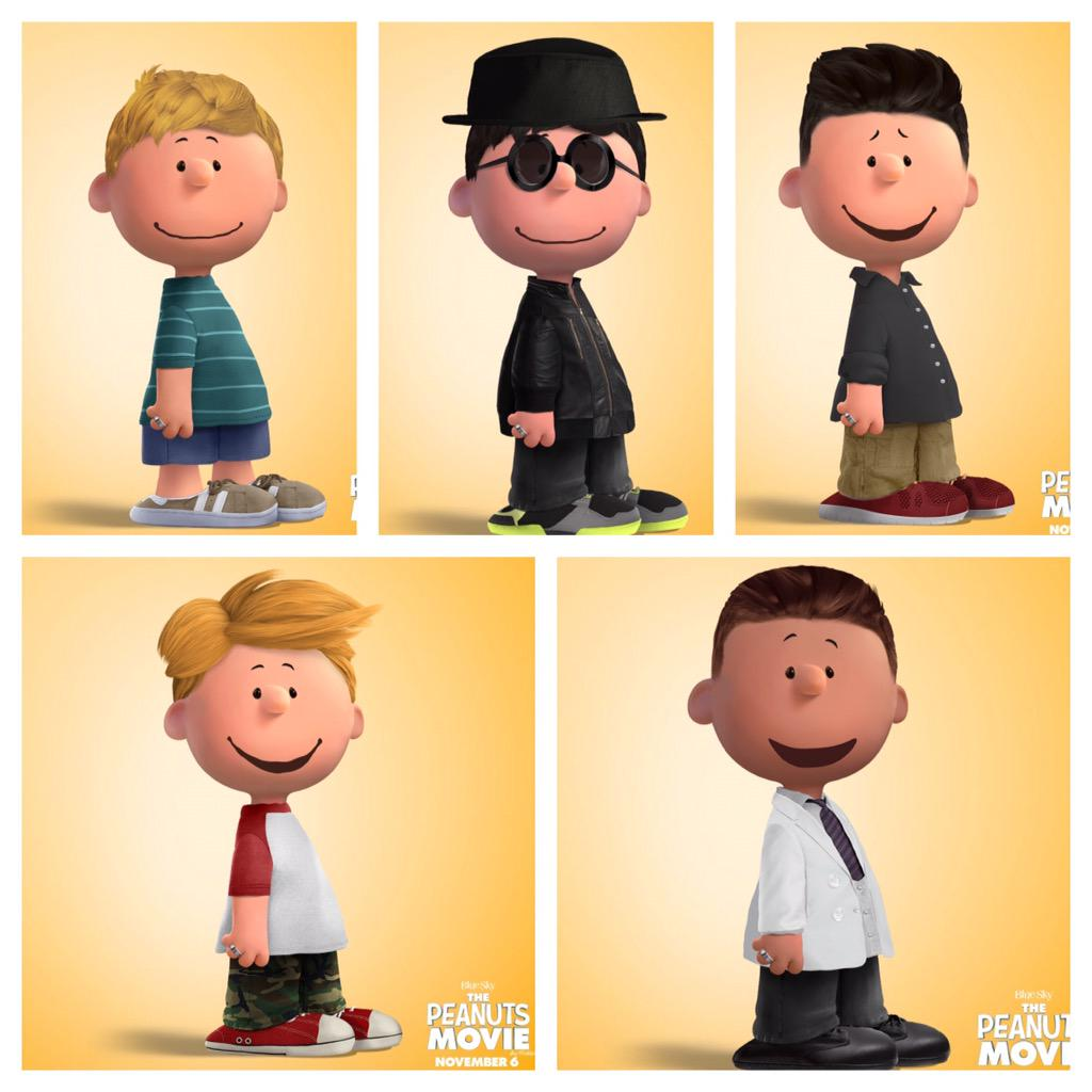 I made the @backstreetboys as peanuts http://t.co/N55qEBjXFM