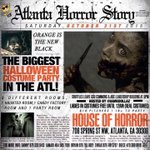 #AtlantaHorrorStory This Halloween, Come Dressed up Ready to TU   3 Rooms (Haunted👻💀 x Candy🍬🍫 x Party🎉) http://t.co/3w6VC77zIx x18
