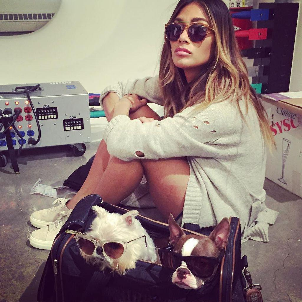 On set chillin with my home dogs. Literally. ???????? http://t.co/KhjU8Suqih http://t.co/PbzzJCJYmj