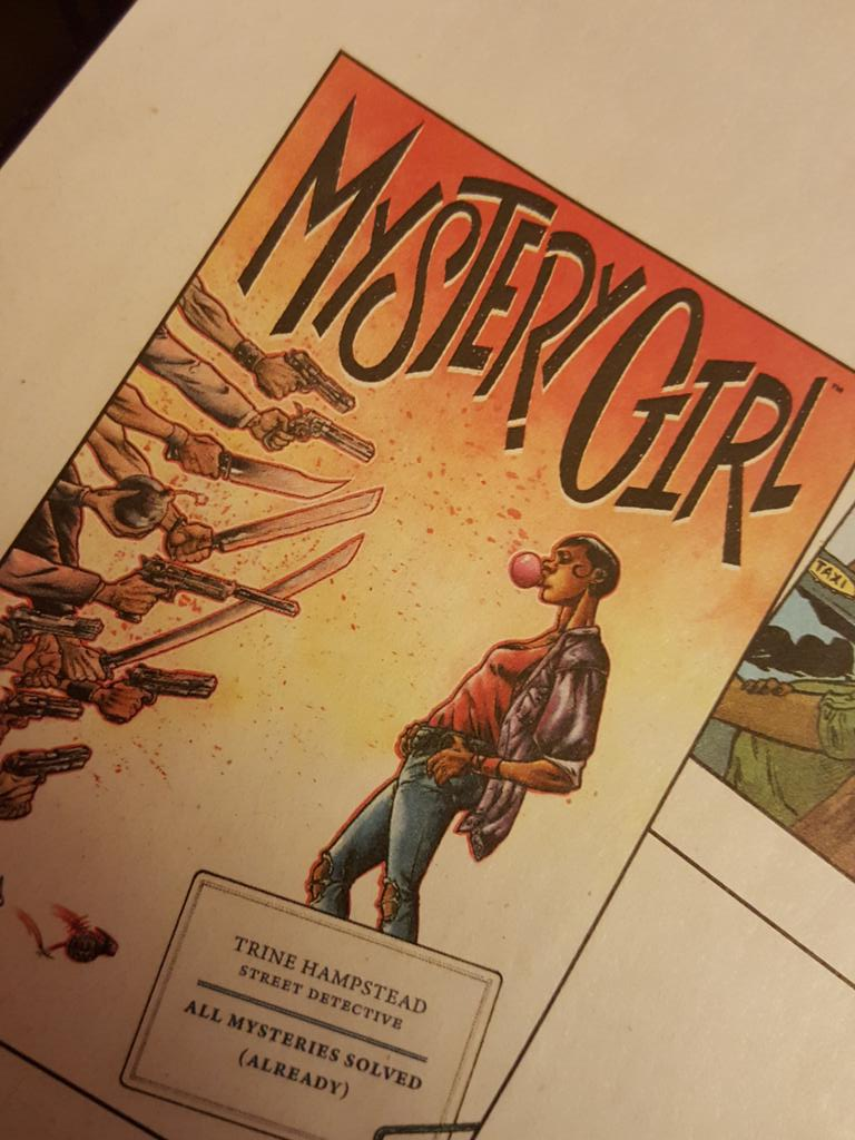 If @PaulTobin is writing it you should be buying it. MYSTERY GIRL #1 from @DarkHorseComics #PreviewsAddict http://t.co/vrBqWb6EyI