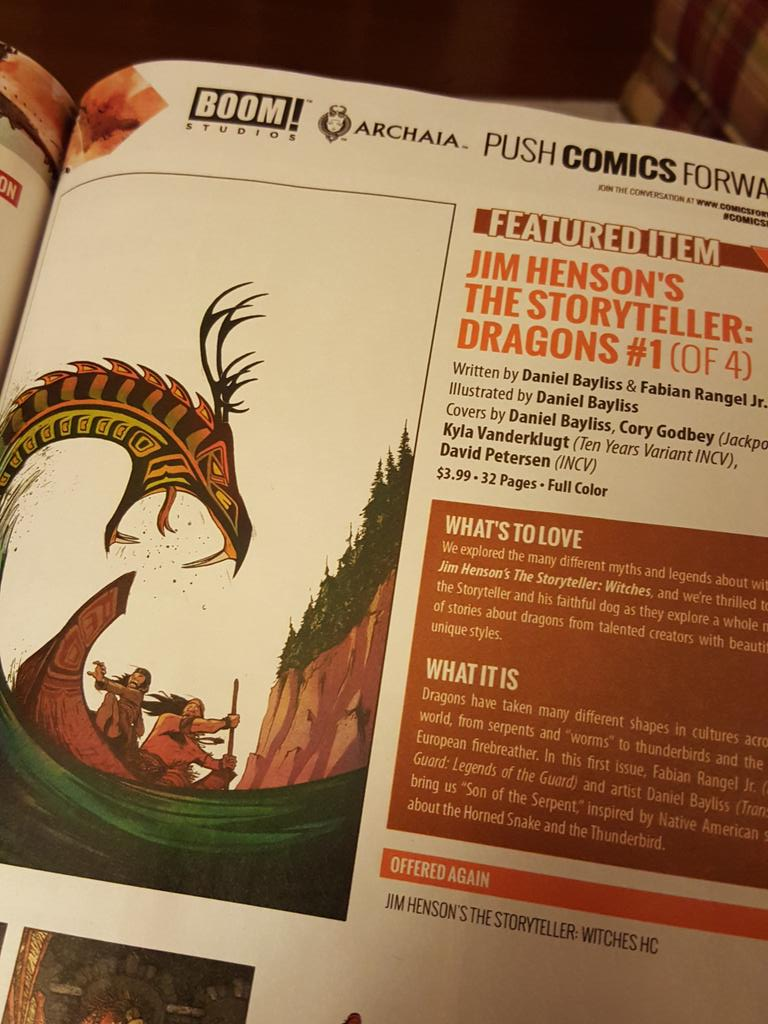 Another STORYTELLER miniseries from @Archaia? Why certainly. #PreviewsAddict http://t.co/csD0JL45Zf
