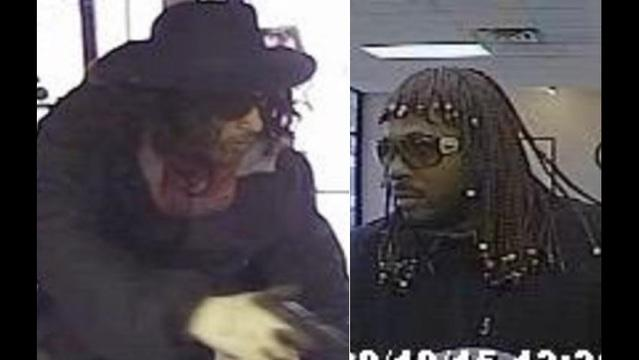 Armed men dressed as Super Fly and Rick James rob bank http://t.co/1oFU8dngqc #fox5atl http://t.co/ske01Ltq9W