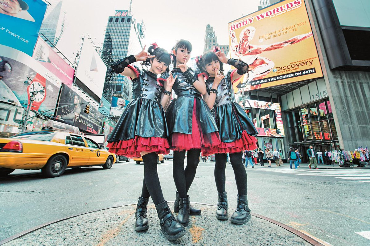 Baby Metal sporting their Docs in our new book, see more: Eu: http://t.co/NDZSFzp9lS INTL: http://t.co/Hs9cQl5Nie http://t.co/3xHxjCwF4M
