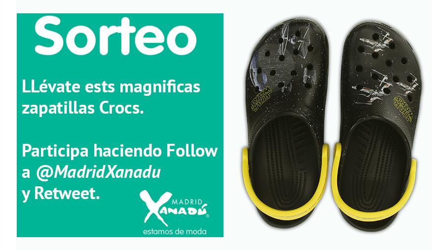 Sorteamos estas zapatillas, #StarWars. Para participar síguenos y haz retweet. El lunes 28 publicaremos el ganador. http://t.co/58r2BihXd5