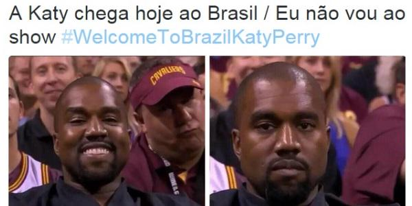 Chegada de Katy Perry ao Brasil gera ansiedade e memes engraçados http://t.co/WdsWYF34im #WelcomeToBrazilKatyPerry http://t.co/UNtLxyv2JF