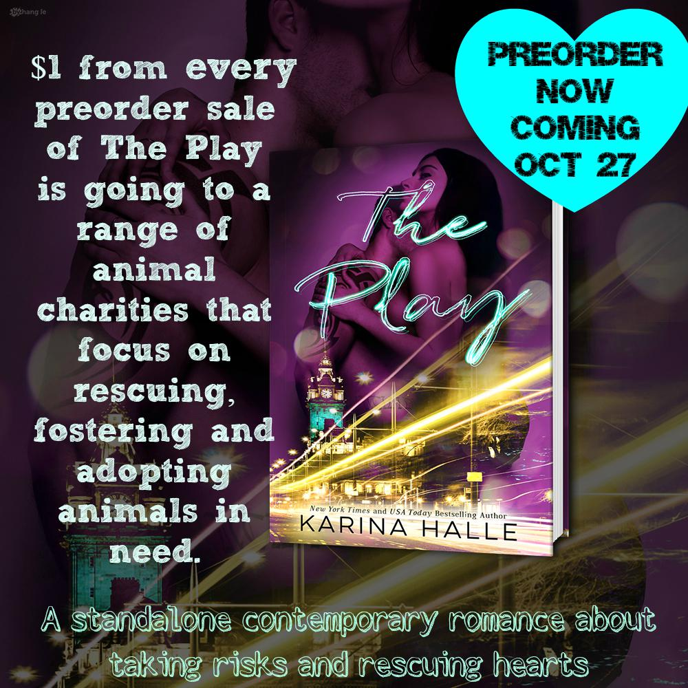 in case you missed it... preorder THE PLAY now and half my proceeds go to save puppies: http://t.co/lqf4mtqIBO http://t.co/qwDIQIyPCe