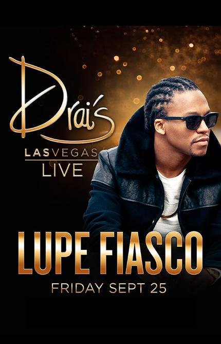 Vegas manana with @LupeFiasco at  @DraisLV #LitTurnipsWillbeWayUp http://t.co/AURpSlYiMi