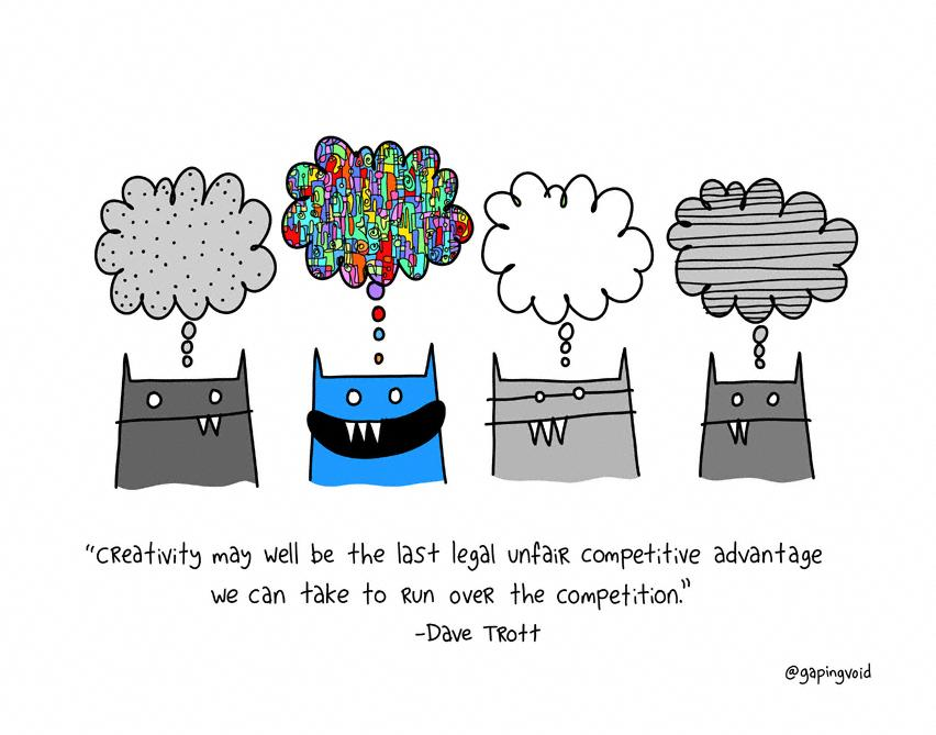 Mind Mapping: The last legal unfair advantage? @gapingvoid http://t.co/3MiU4bMnyR http://t.co/pbEABrq9Ms