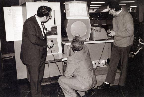 People credit me with inventing the video game.  That honor belongs to Steve Russell he programmed Space War in 1962 http://t.co/AEMl39gMSz