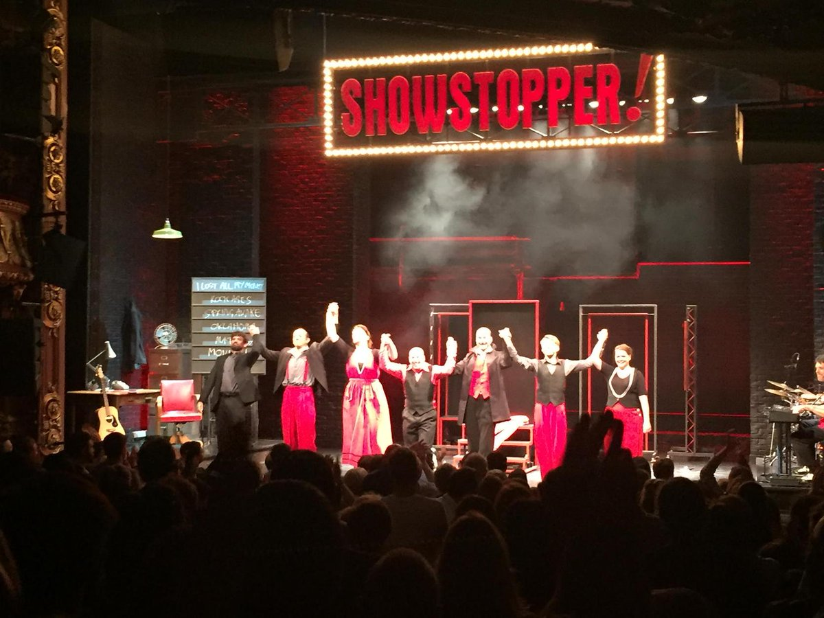 Thanks to 1st Apollo audience for giving us a standing ovation! Remember #EveryShowsAFirstNight so pls do come again! http://t.co/gpncKGjTZg