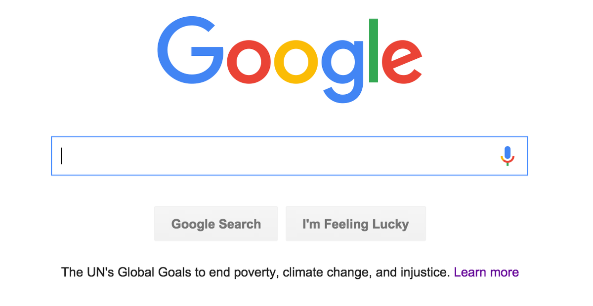 RT @TheGlobalGoals: IT BEGINS! OUR PLAN - #TELLEVERYONE about the #GlobalGoals being gavelled TODAY - @google isn't a bad place to start. h…