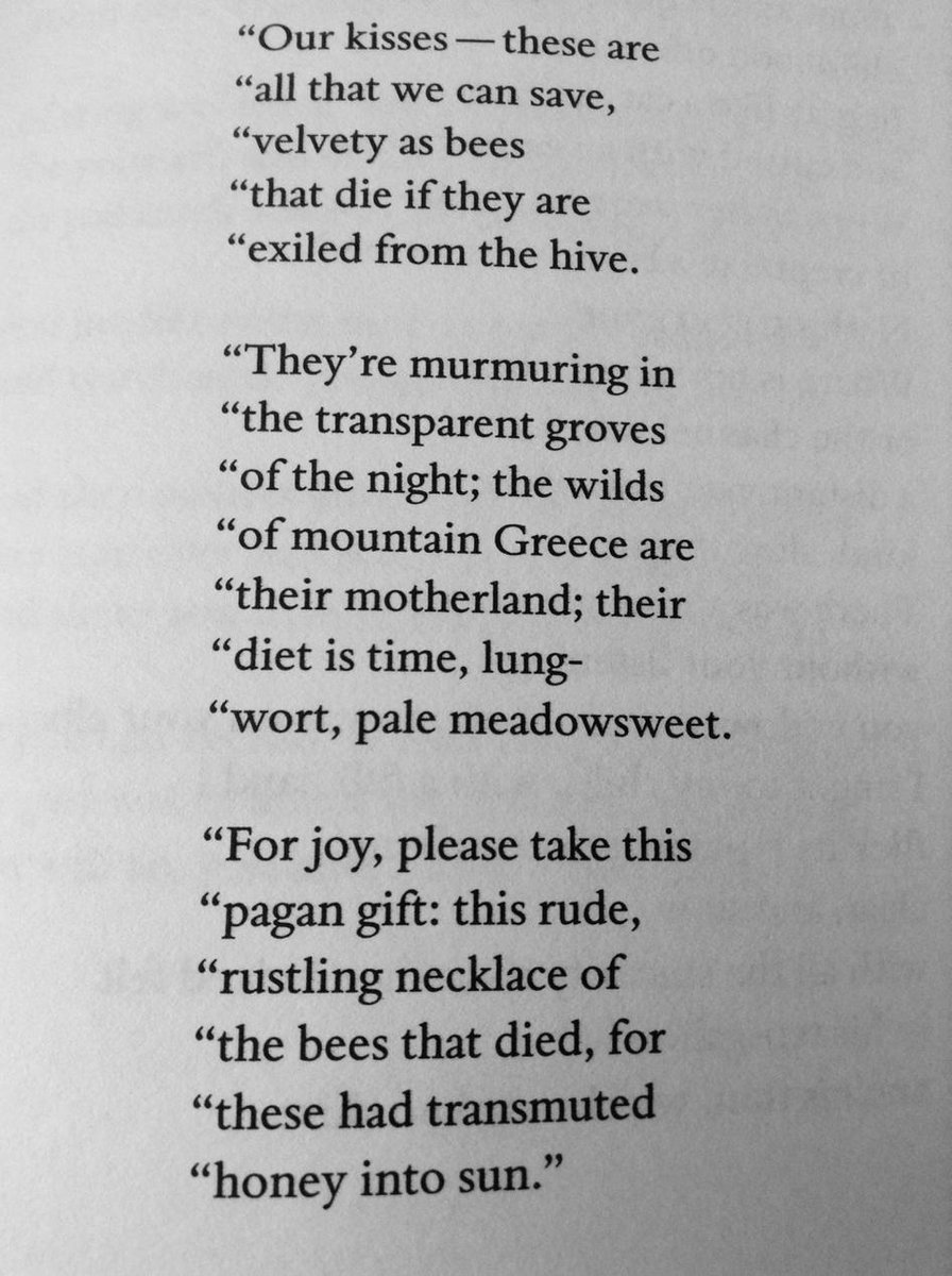 "#todayspoem is ""From 'Dark Honey'"", by Reginald Gibbons, in the current issue of @poetrymagazine http://t.co/jaE1oGFUez"