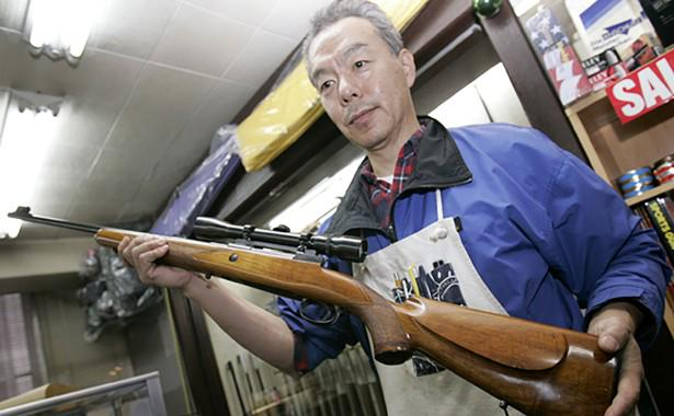 Japan has just 2 gun-related homicides per year. http://t.co/ty5k7Mj4aB