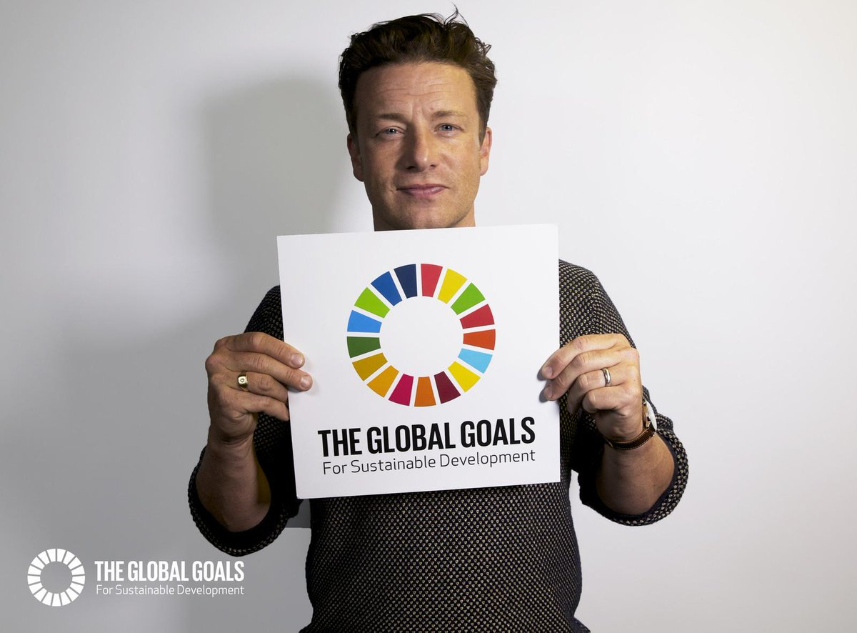 RT @FoodRev: Tune in to Radio Everyone today @ 3pm GMT to hear @jamieoliver! http://t.co/0y8lx3C0lR #globalgoals #TellEveryone http://t.co/…