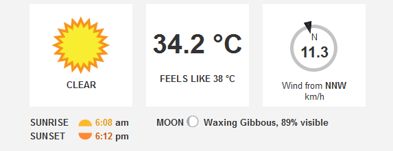Its 342degc In Dubai Right Now Check 10 Day Weather Forecasts