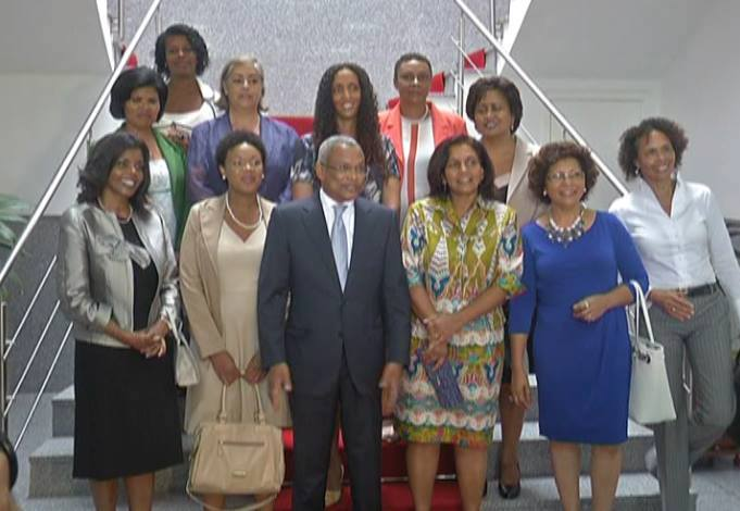 Fact: #CapeVerde has a gouvernment of 19 Ministers. 11 are women. #GlobalGoals #Action2015 #UNGA #Goal5 http://t.co/9J1oQJUlVI