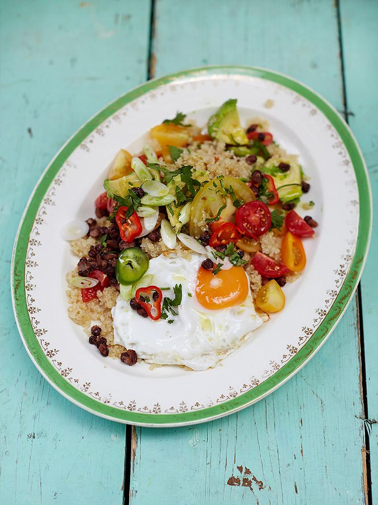 #Recipeoftheday South American style brunch with quinoa, eggs, tomatoes, beans & chillii http://t.co/J1zKw7k2iC http://t.co/JLk78ff5RP