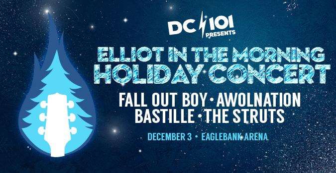 Just announced: @EITMonline Holiday Concert ft @falloutboy @awolnation & more #EITMHoliday http://t.co/DBKBPAkWQU http://t.co/fLoJPdhCPZ