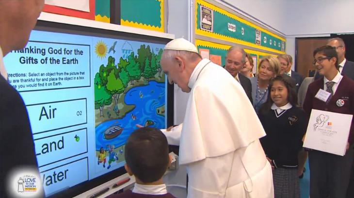 An incredibly special day for us. We're honored to have been a part of the Pope's visit. #popeinnyc http://t.co/bwM9qzP1r4