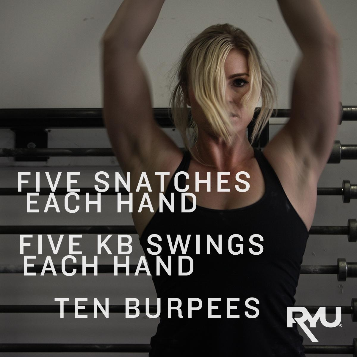 """Five rounds for time. @karinanowlan says """"""""happy weekend."""" #WOD #BeautifulTough http://t.co/O5yNKutqPB"""