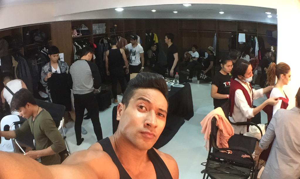 The calm before the storm.. who can you spot here?? #ShowtimeKapamilyaDay