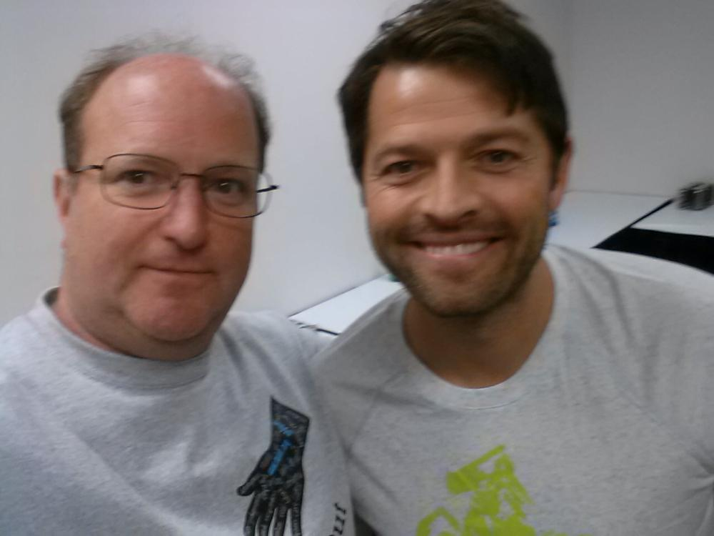 We're so excited to be partnering with @RandomActsOrg to help those in crisis. Our founder Reese & @mishacollins http://t.co/dCApFw8jy1