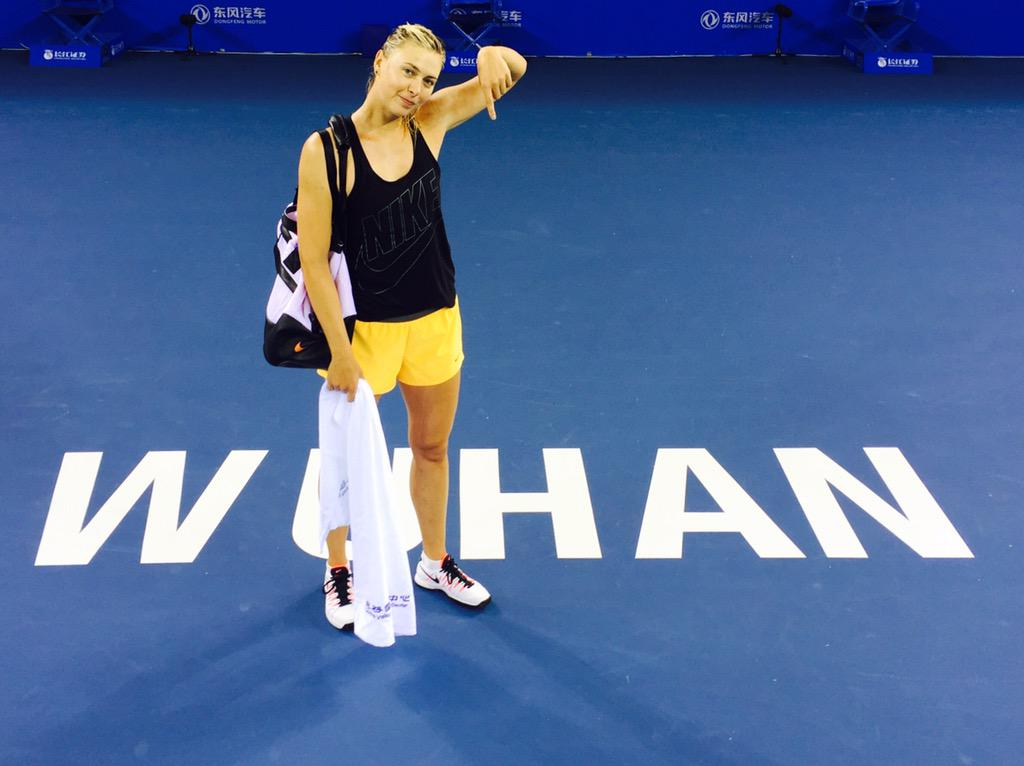 New stadium court in... #Wuhan http://t.co/hlrQ6Vxdr7