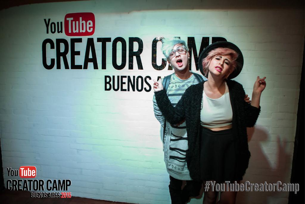 La llegada de @JuanamartinezH  y @Juanjaramilloe al #YouTubeCreatorCamp Buenos Aires http://t.co/PXFKQTOoyl