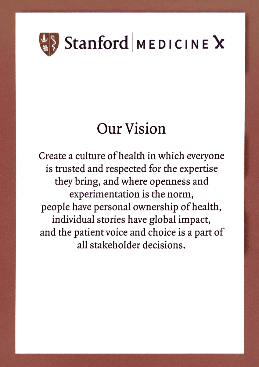 ICYMI: the Stanford #medx Vision. Print and put over your desk. http://t.co/wOgagOAzLi