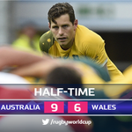 Bernard Foleys 100% #RWC2015 kicking record at Twickenham continues in an absorbing 40 minutes against #WAL #AUSvWAL http://t.co/ejhchxGWg5
