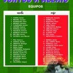 #JuntosXAlexis : Estos son los equipos que jugarán a beneficio de Alexis Viera....cc @DiegoForlan7 @AForli http://t.co/0UO5xk0q0K