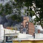 Importante incendio en automotora de Malvín http://t.co/6sxrKV2F3r http://t.co/DcpftmEUd7
