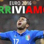 LITALIA VOLA A EURO 2016 ???????????????????????? #AzerbaigianItalia 1-3 e gli Azzurri festeggiano ► http://t.co/BjlY29gQVg http://t.co/RiOQa80e3f