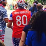 "Wearing a ""Smashenpuss"" jersey to USA vs. Mexico. #TFM #USA http://t.co/965ZdX5uG9"