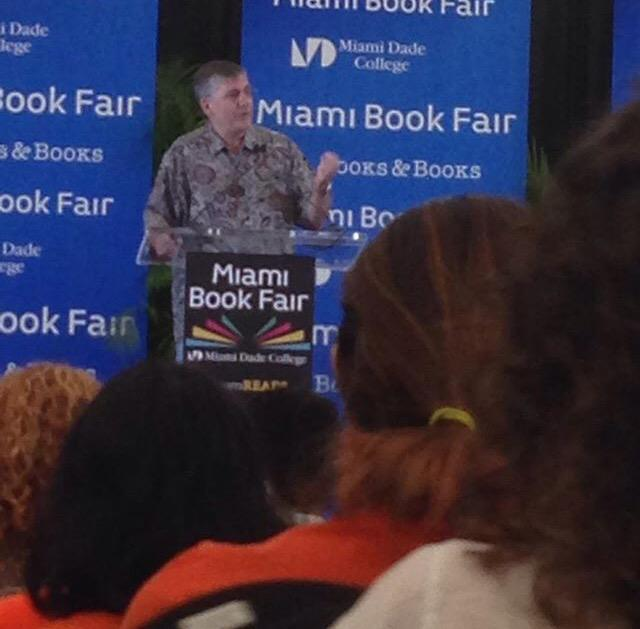 .@camphalfblood has the audience captivated! #MagnusChase #MiamiBookFair2015 http://t.co/5kctq5B6iJ