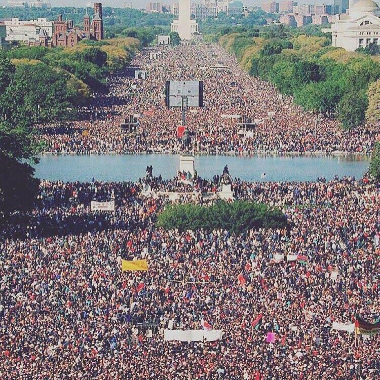 Soooooooo no major network airing #MillionManMarch ? I know I can see it on the internet but.... http://t.co/pzZdgH9iUt