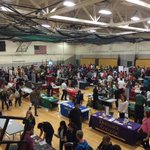 Clay College Day a tremendous success. Thank you to everyone who participated. #CHSEaglePride http://t.co/SkGjQ4Hqk4