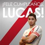 Hoy es el cumpleaños de Lucas Alario. ¡Felicidades, Lucas! http://t.co/RGShf96Qk6