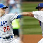 .@Cubs will follow Jon Lester with Kyle Hendricks in #NLDS Game 2, Jake Arrieta in Game 3. http://t.co/Kyxh5Aq9r1 http://t.co/YVxyKPq2CI