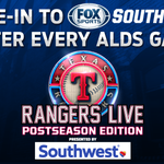 Switch it to #FOXSportsSW & get the hometown postgame perspective on @Rangers Live #Postseason Edition #NeverEverQuit http://t.co/tUj76glHCZ