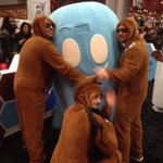 Ghosty and wookies... FINALLY!! #ghostery #letthewookiewin #NYCC2015 http://t.co/17NlmaZNGA