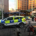 Area of Cardiff city centre is cordoned off as police investigate an ongoing incident http://t.co/jKAognWFWR http://t.co/lQouf69OPV