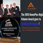 We are so proud!#AcademyMortgage #realty #realtor #arizona #arizonarealestate #keirland #mortgage #loans #Scottsdale http://t.co/V5B6PGCuX3