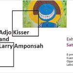 ART EXHIBITION Adjo Kisser & Larry Amponsah Sat 10 Oct 6-8 pm KP gallery behind Labone SHS Labone Accra 0246644059 http://t.co/NQlnskKV7H
