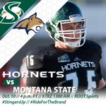 Gameday! Hornets take on No. 18 Montana State at 4 pm PT. TV on ROOT Sports. Listen on KTKZ 1380. No WatchBigSky. http://t.co/FeAPvRVKln